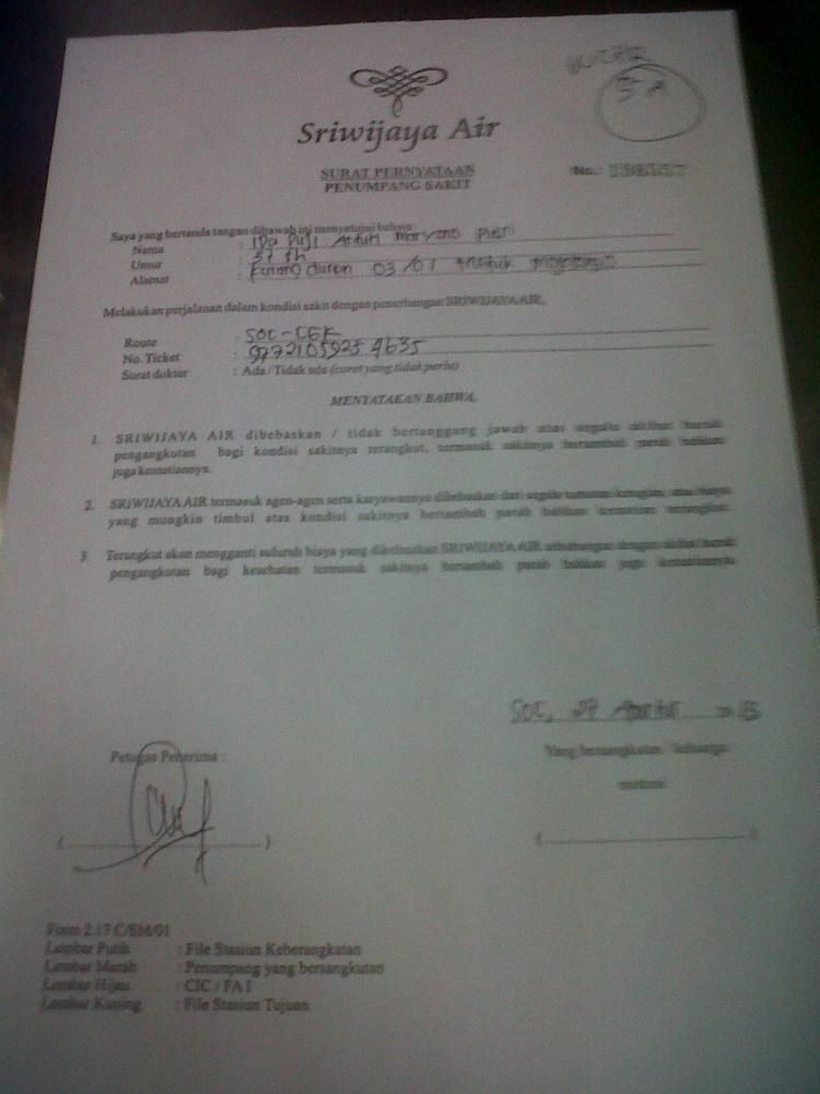 Difabel Tolak Pemberlakuan Surat Pernyataan Sakit Dari